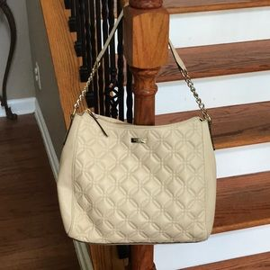 NWT♠️Kate Spade Astor Court Aurelia Grey Quilt Bag